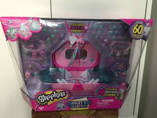 Shopkins Jewelry Box Collection