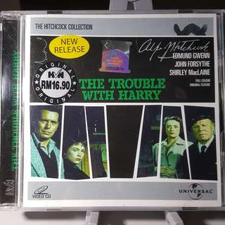 VCD - THE TROUBLE WITH HARRY (1955) alfred hitchcock comedy mystery shirley maclaine