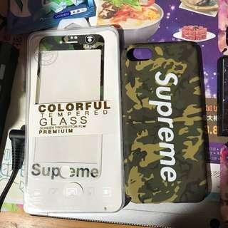 iPhone 7/8保護貼+保護殼(夜光)