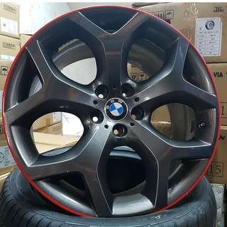20inch SPORT RIM BMW Y SPOKE RED LINE WHEELS x5 x6 x3