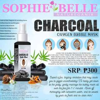 Charcoal Oxygen Bubble Mask