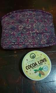 Cocoa Love body scrub bag set