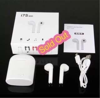 TWS i7s Stereo Wireless Bluetooth EarPods (Twin)