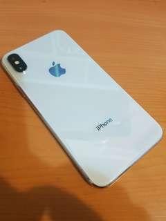 iPhone X 256GB sliver white
