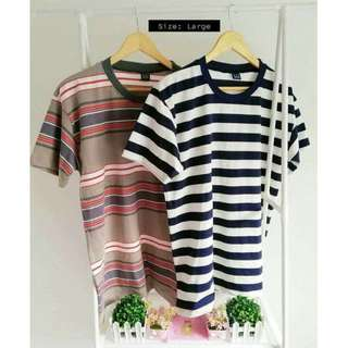 Classic Stripes Tees Brand New (Large)