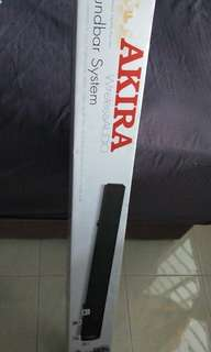 BRAND NEW! Akira wireless audio soundbar system