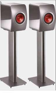 KEF Performance Speaker Stands (Titanium)