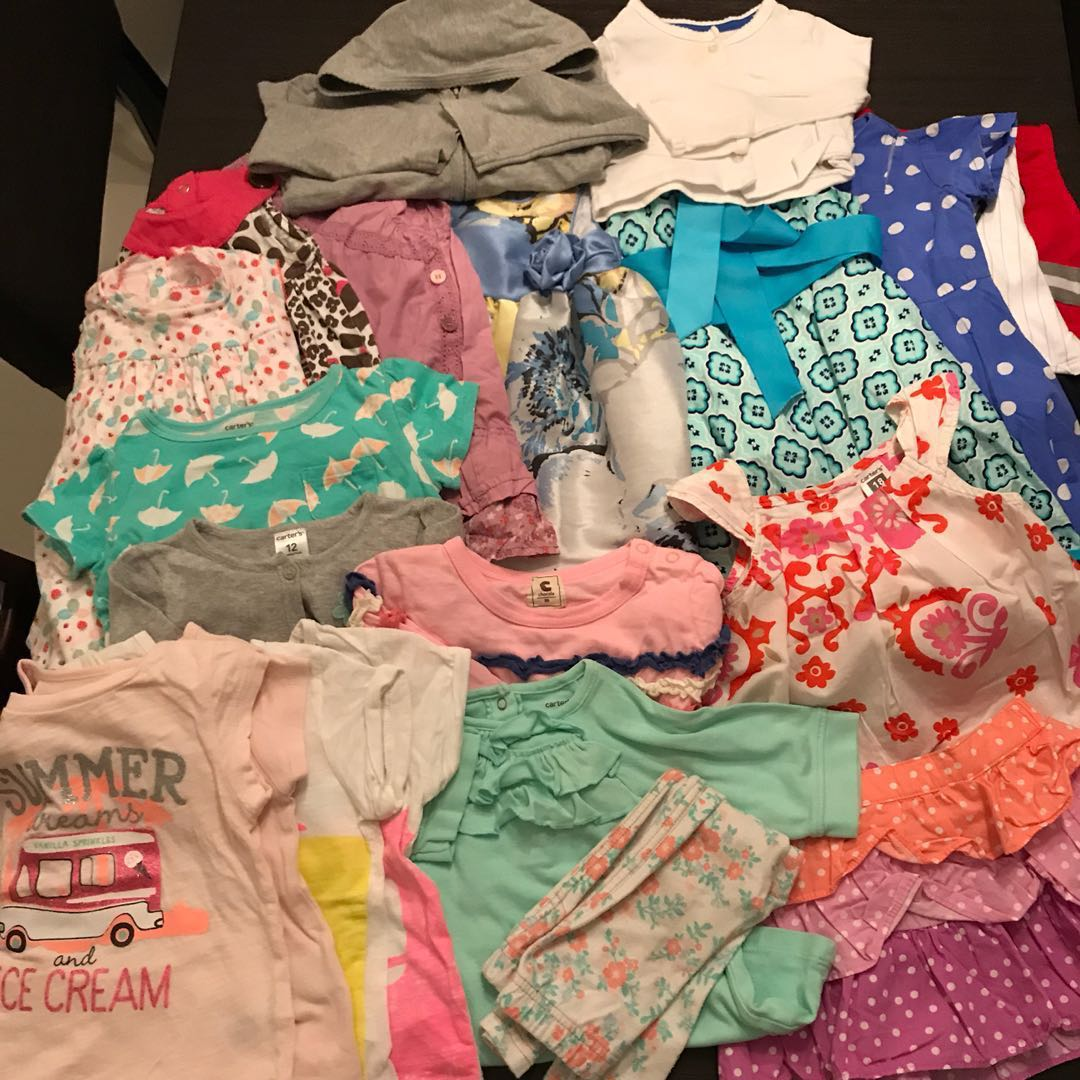 93e6cd82e 18-24 Month Old Bundle Baby Girl Clothes Dress Tops, Babies & Kids, Babies  Apparel on Carousell