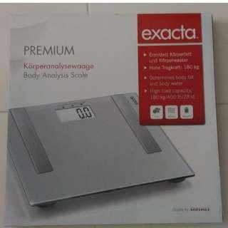 Soehnle Electronic Body Scale (Body Analysis), Silver