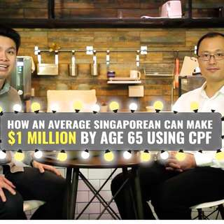 Be a CPF MIllionaire , Kick start your CPF INVESTMENT journey.