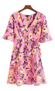 Sweet Floral Chic Dress