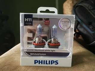 Philips WhiteVision H11 pair 4300k