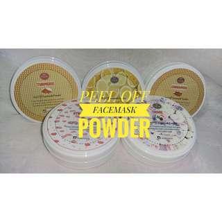 Organic Peel Off Facemask Powder