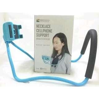 necklace cellphone holder hp gantung di leher flexibel