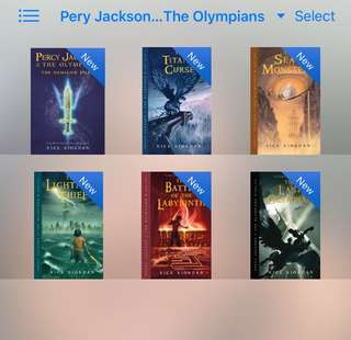 Percy Jackson and the Olympians (Complete) Ebooks