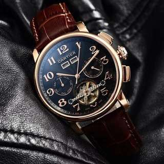 New Cartier Calender Tourbillion