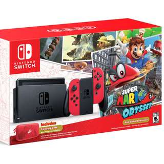 Want to buy Nintendo Switch ver [mario odyssey OR Neon blue and red] LOCAL ONLY