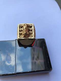 Gold ring pi could (Gold not real)