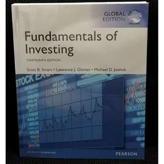 SUSS/ UNISIM GSP177 Fundamentals of Investing