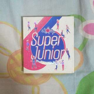Super junior 6th repackage album SPY