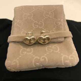 Gucci silver earrings, excellent condition