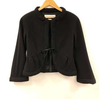 Valentino black suit jacket size 4