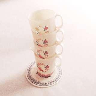(Vintage) English Breakfast Tea Set