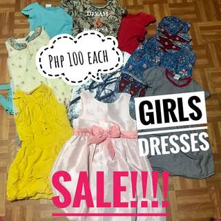 SALE!! Girls dresses @100Each only