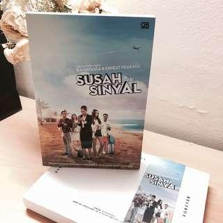 Novel Susah Sinyal Ika Natassa