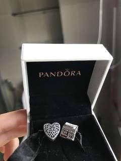 93 each Pandora Charms Romance Heart& Santas House