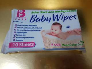 B Care Baby Wipes