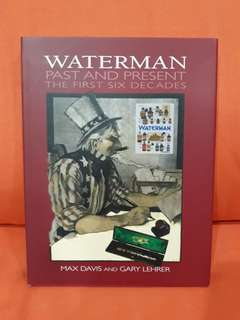 Waterman Past and Present Fountain Pen Hard cover book