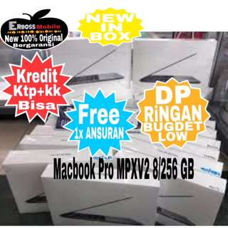 "Apple MacBook Pro MPXV2-TouchBar 13""/i5/8/256GB New Kredit/Cash Cal/Wa;081905288895"
