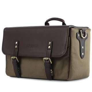 Camera Bag | Bag Camera | Camera Sling Bag | CADEN P3 SHOULDER MESSENGER BAG LEATHER SHOCKPROOF CAMERA HANDBAG 35.00 x 16.00 x 21.00 cm  13.78 x 6.3 x 8.27 inches