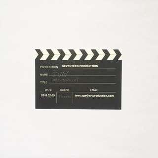 seventeen jun official business card