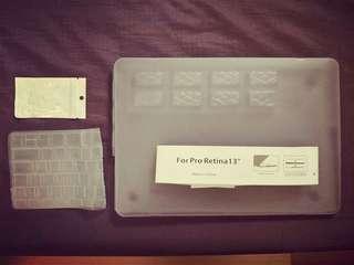 🚚 全新13吋Macbook透明保護殼