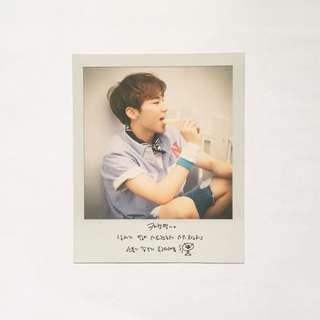 seventeen hoshi love letter repackage official photocard