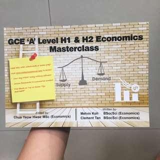 Economics H1/H2 A Levels Masterclass Guidebook