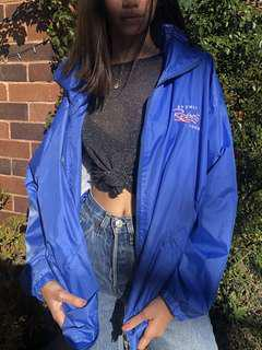 "Vintage Blue ""Rebels"" Windbreaker"