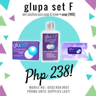 Glupa For Teens with Free soap Set F