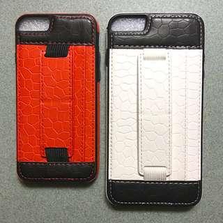 iPhone 6/6 plus 仿皮電話殼
