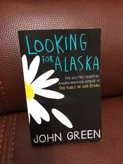 Looking for Alaska (new book)