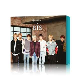 Mediheal x BTS Face Mask (Soothing & Hydrating)