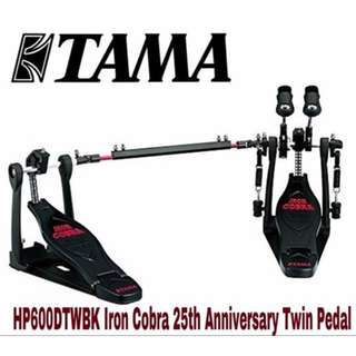 Tama HP600DTWBK Iron Cobra 25th Anniversary Twin Pedal