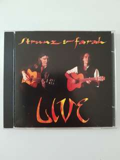 CD(SOLD) Strunz & Farah - Live