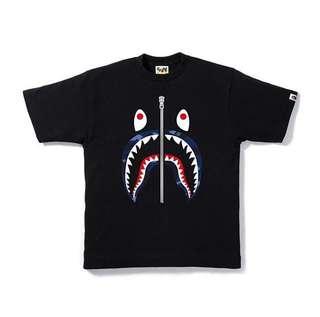 Bape Shark Camo Tshirt