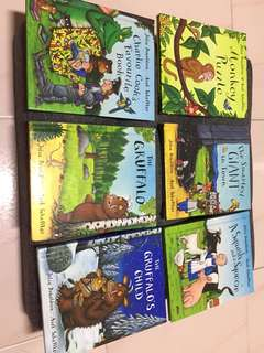 Julia Donaldson The Grufflo hardcover books