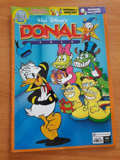 Preloved Buku Komik Donal Bebek Buku Besar