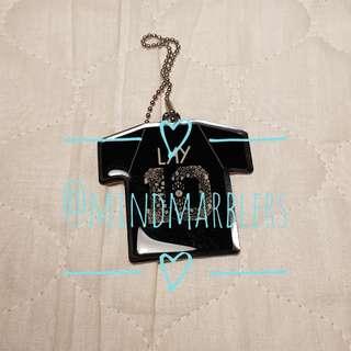 EXO Gashapon - Metal Shirt Keychain