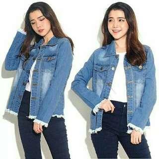 Jeans wanita rumbe oversized